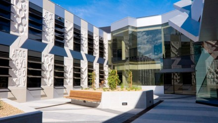 JCSMR courtyard