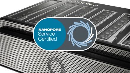 Promethion  Nanopore Service Certified